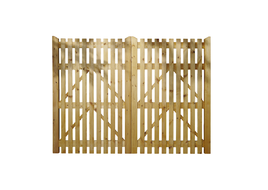 FOXLEY_WOODEN GATE